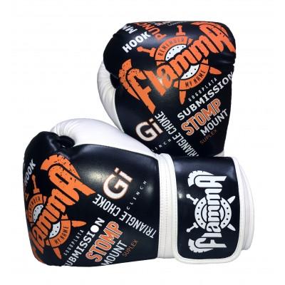 Перчатки для тайского бокса FLAMMA HOOK 12 унц