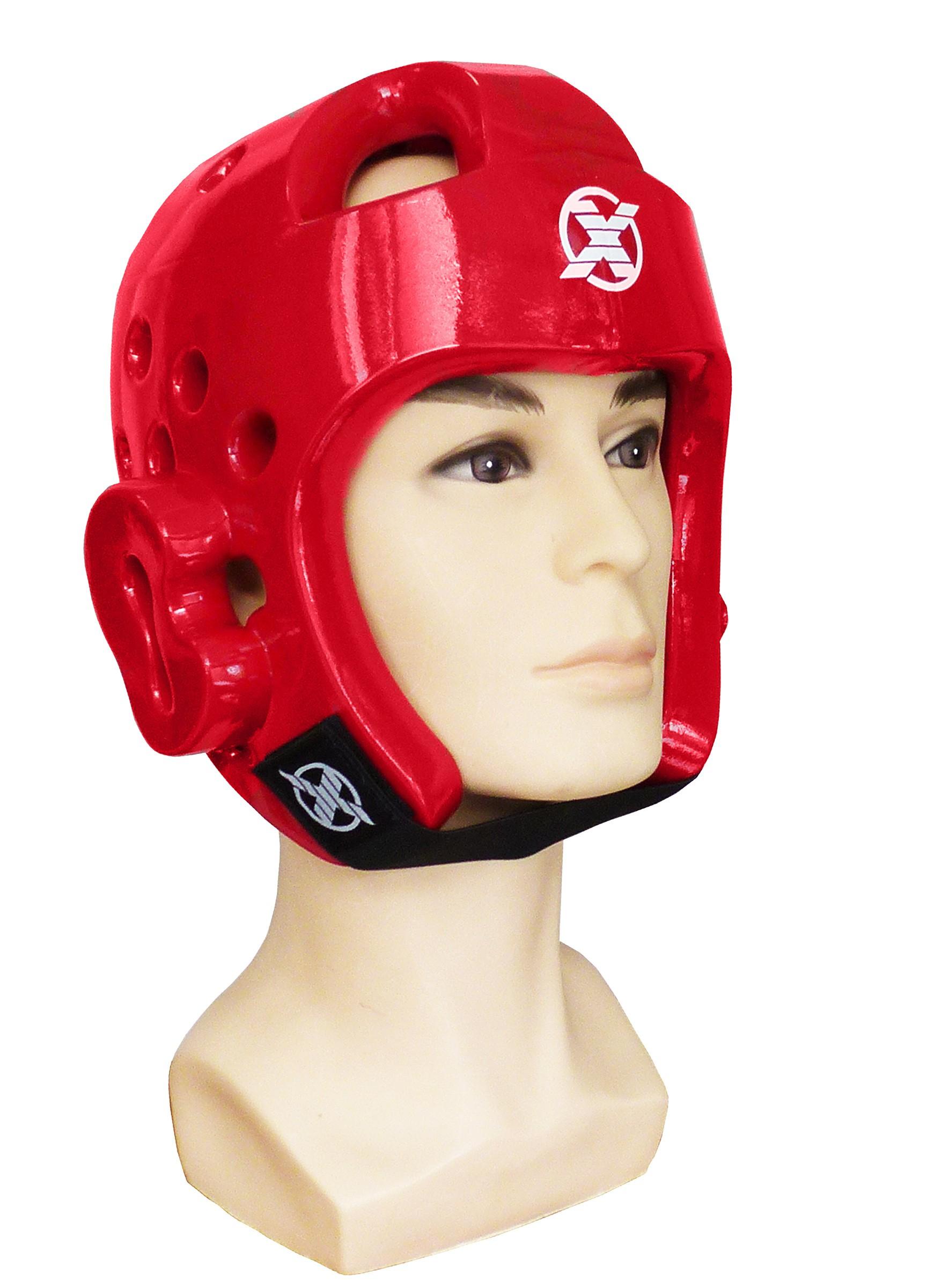 Шлем тхэквондо FIGHT EXPERT пенный пластик