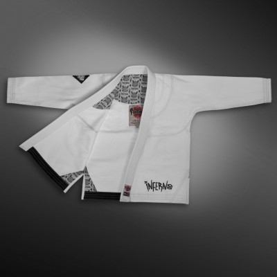 Кимоно для BJJ FLAMMA INFERNO KIDS white