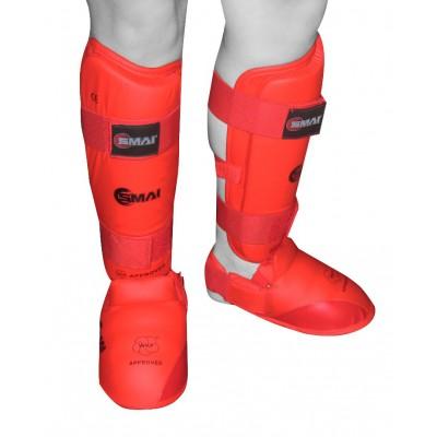 Защита голень-стопа для карате WKF SMAI
