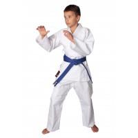 Униформа дзюдо EXPERT белая, в комплекте с белым поясом