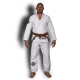 Кимоно для БЖЖ (Ги BJJ) FLAMMA INFERNO white