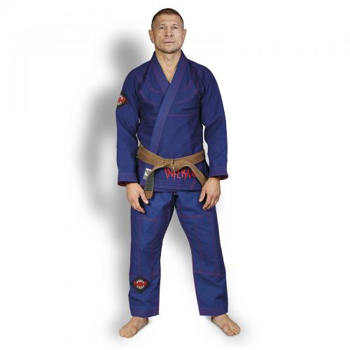 Кимоно для БЖЖ (Ги BJJ) FLAMMA INFERNO blue