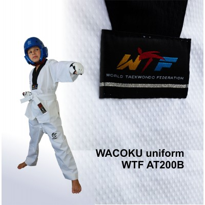 Униформа для тхэквондо WTF (добок) WACOKU