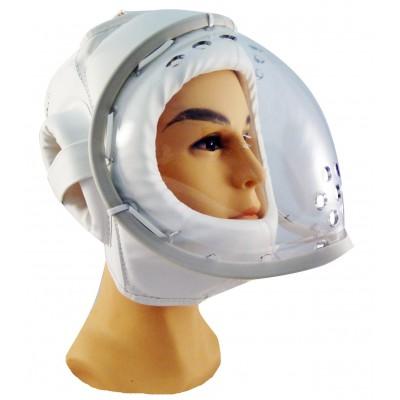 Шлем с маской на шнуровке