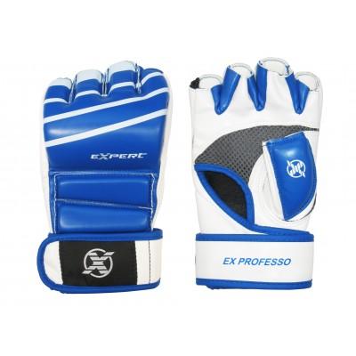 Перчатки для MMA FIGHT EXPERT с защитой пальца для борьбы и ударов