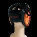 Шлем для бокса FIGHT EXPERT MILITARY RED с защитой щек