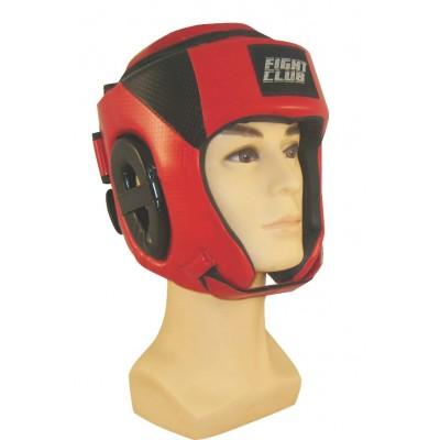 Шлем для бокса с защитой верха FIGHT CLUB
