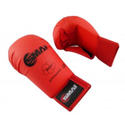 Защита кисти (накладки) для каратэ WKF SMAI с защитой пальца