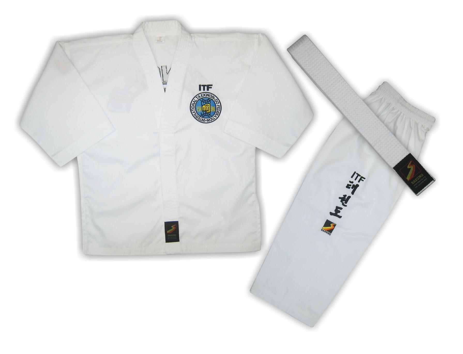 Униформа для тхэквондо ITF (добок) ученическая , SASUNG