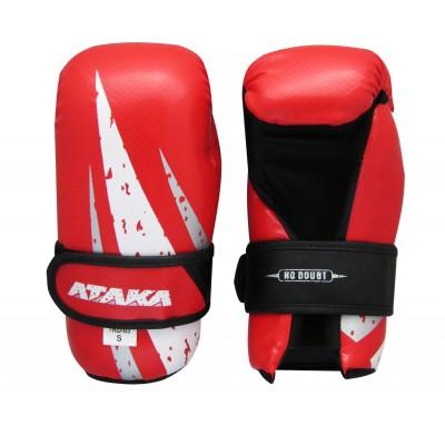 Защита кисти (перчатки ) тхэквондо (ИТФ, ГТФ) АТАКА Carbon