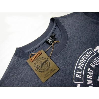 Футболка X-shirt с винтажным логотипом FIGHT EXPERT