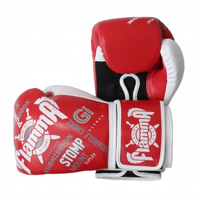Перчатки для тайского бокса FLAMMA HOOK 10 унц